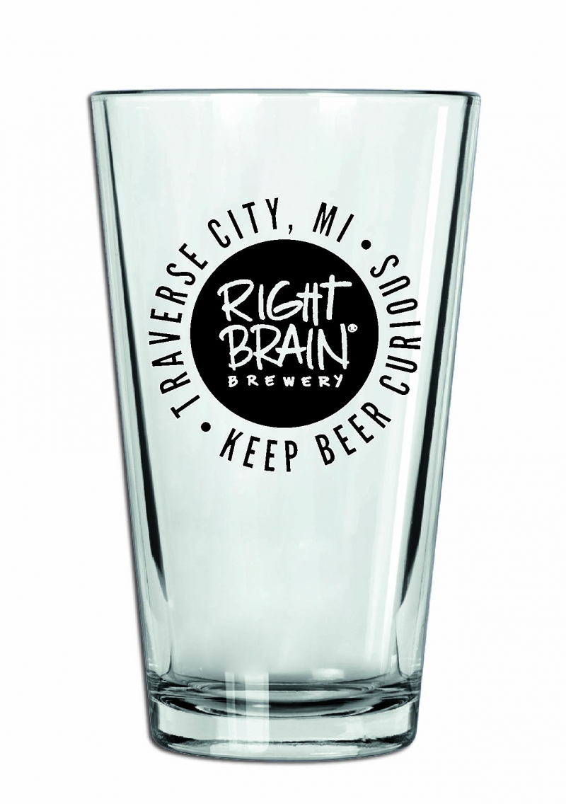 Pint Glass - RBB Logo